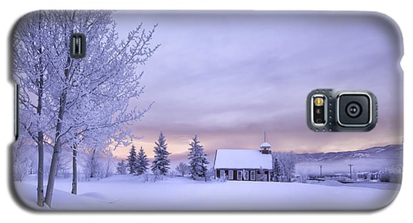 Galaxy S5 Case featuring the photograph Snow Day by Kristal Kraft