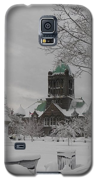 Snow Draped Green Galaxy S5 Case