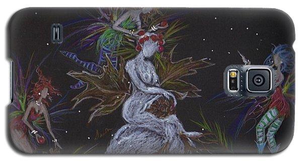 Snow Dryad Galaxy S5 Case by Dawn Fairies