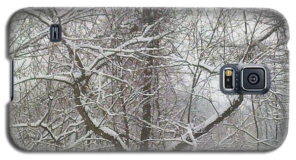 Snow Has A Heart Galaxy S5 Case