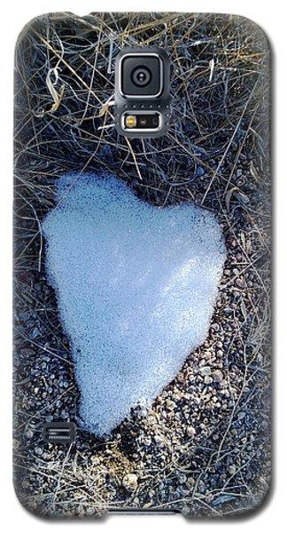 Snow Heart Galaxy S5 Case