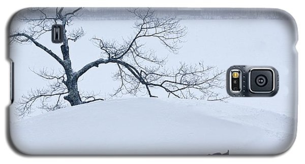 Snow Hill Ride Galaxy S5 Case