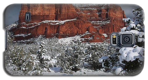 Snow In Sedona Galaxy S5 Case
