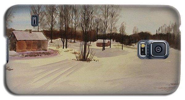 Snow In Solbrinken Galaxy S5 Case by Martin Howard