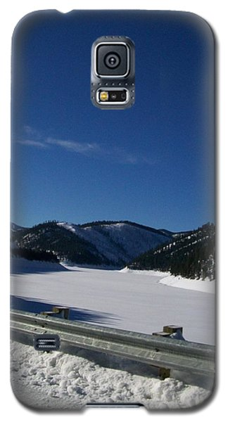 Galaxy S5 Case featuring the photograph Snow Lake by Jewel Hengen