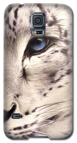 Snow Leopard Galaxy S5 Case by Sheena Pike