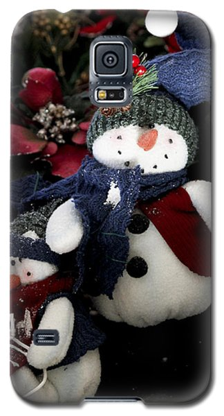 Galaxy S5 Case featuring the photograph Snow Man by Ivete Basso Photography