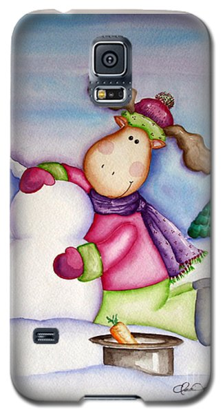 Snow Moose Galaxy S5 Case