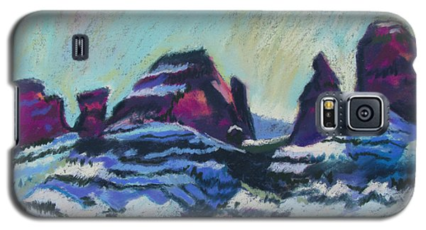Snow On Peaks Galaxy S5 Case