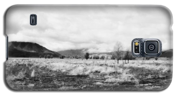 Galaxy S5 Case featuring the photograph Snow Over Hanning Flat by Hugh Smith