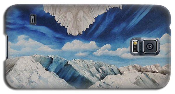 Snow Owl Galaxy S5 Case by Dianna Lewis