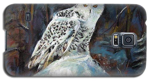 Snow Owl Galaxy S5 Case by Jieming Wang