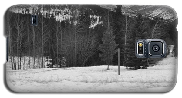 Snow Prints Galaxy S5 Case by Cheryl Miller