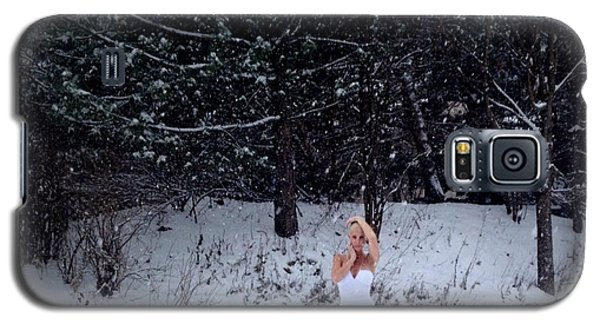 Snow Queen Galaxy S5 Case by Lisa Piper