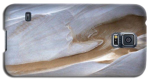 Snow Sand Swirl Galaxy S5 Case