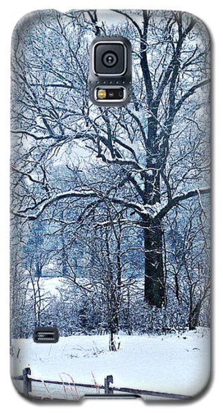 Snow Galaxy S5 Case by Sarah Loft