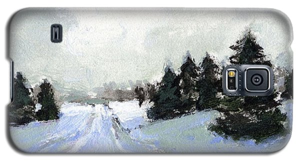 Snow Scene Galaxy S5 Case