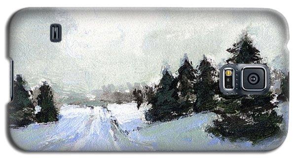 Snow Scene Galaxy S5 Case