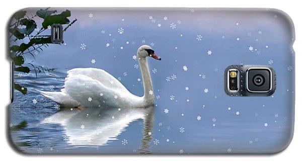 Snow Swan II Galaxy S5 Case