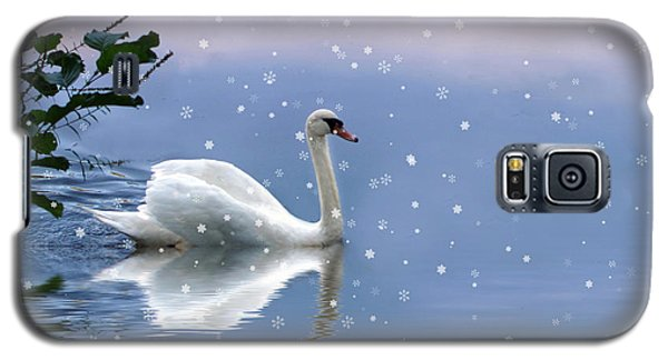 Snow Swan II Galaxy S5 Case