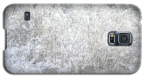 Snow Textures Galaxy S5 Case by Suzanne Powers