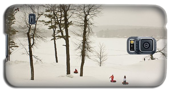 Snow Tubing In The Poconos Galaxy S5 Case