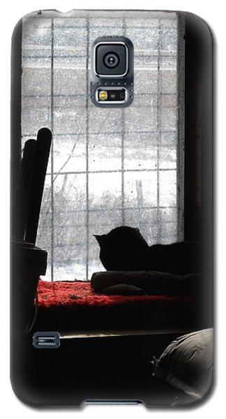Snow Watching Galaxy S5 Case