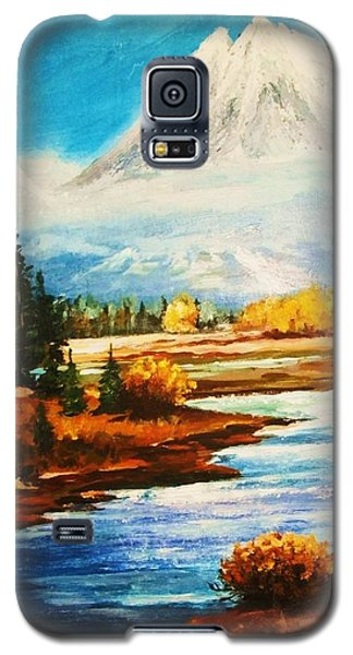 Snow White Peaks Galaxy S5 Case by Al Brown