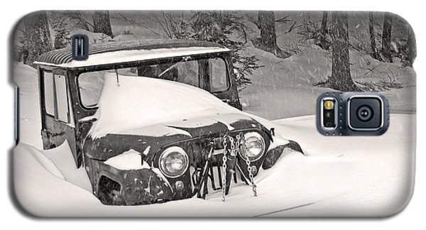 Galaxy S5 Case featuring the photograph Snowed In by Barbara West