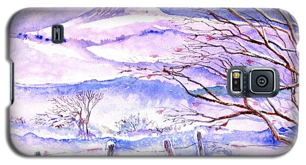 Snowfall On Eagle Hill Hacketstown Ireland  Galaxy S5 Case