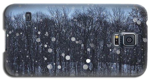 Snowfall Treeline Galaxy S5 Case