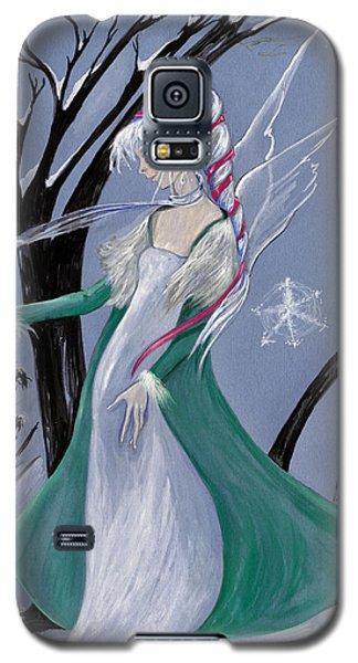 Snowflake Galaxy S5 Case