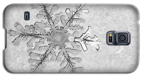 Snowflake On Windshield Galaxy S5 Case