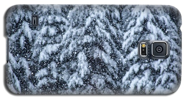 Galaxy S5 Case featuring the photograph Snowflakes by Dennis Bucklin
