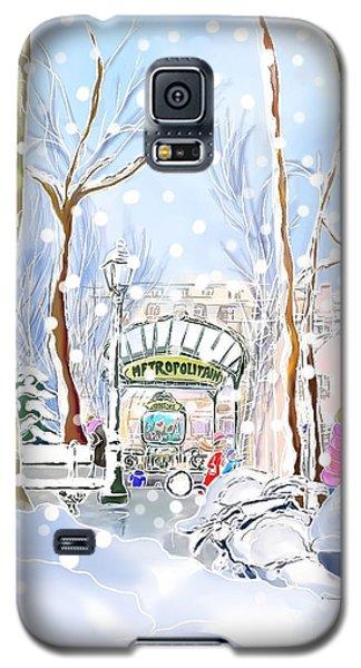 Snowing In Montmartre Galaxy S5 Case