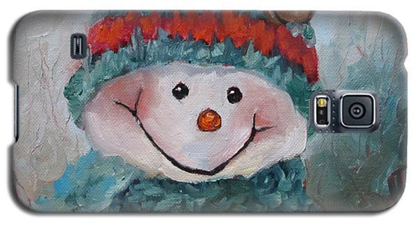 Snowman IIi - Christmas Series Galaxy S5 Case by Cheri Wollenberg