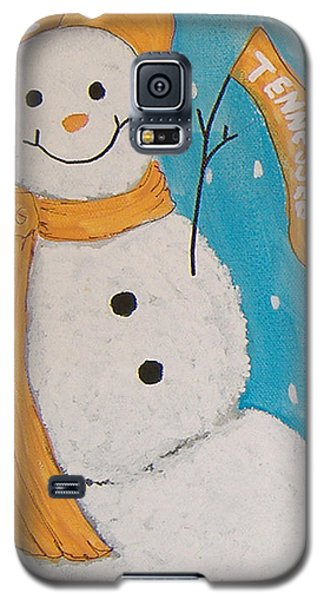 Snowman University Of Tennessee Galaxy S5 Case