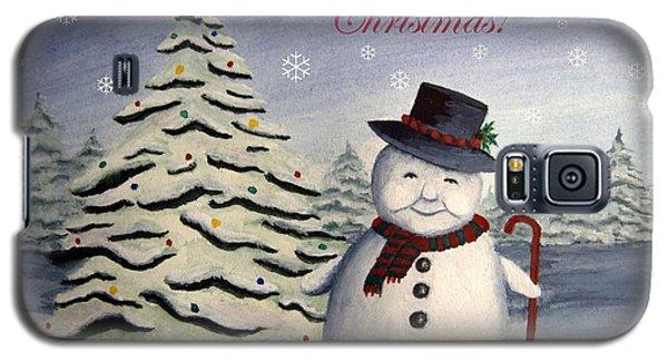 Snowman's Christmas Galaxy S5 Case