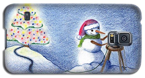 Snowman's X'mas Galaxy S5 Case