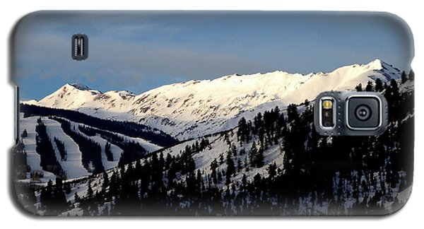 Galaxy S5 Case featuring the photograph Snowmass Mountain - Wild Cat Ranch by Allen Carroll