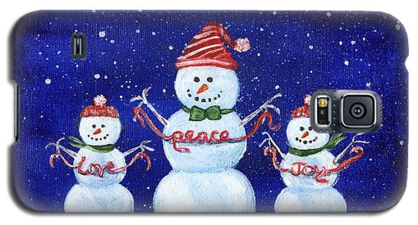 Snowmen Galaxy S5 Case