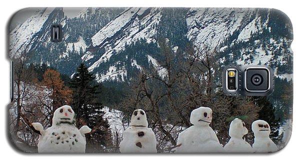 Flatiron Snowmen. Galaxy S5 Case