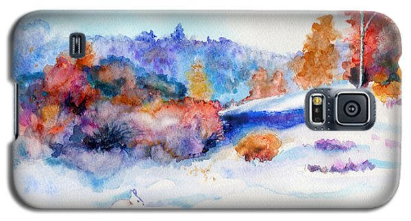 Snowshoe Day Galaxy S5 Case