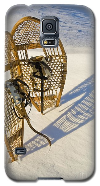 Galaxy S5 Case featuring the photograph Snowshoes II by Jessie Parker