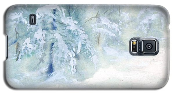 Snowstorm Galaxy S5 Case by Joy Nichols