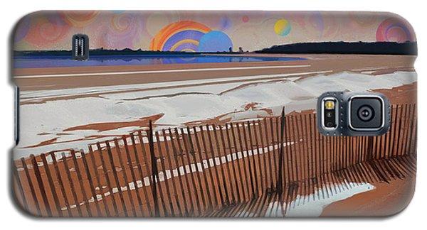 Snowy Beach Galaxy S5 Case