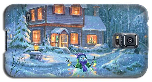 Snowy Bright Night Galaxy S5 Case by Michael Humphries