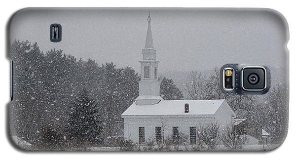 Snowy Church Galaxy S5 Case