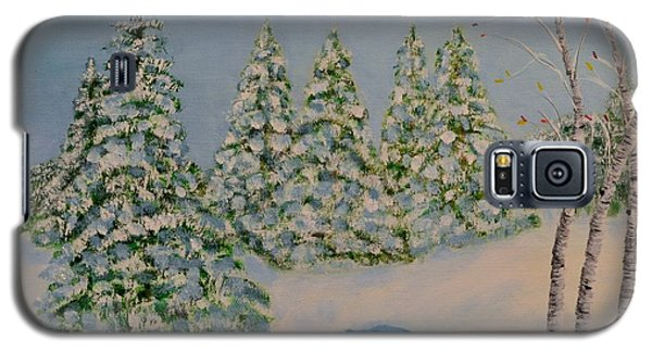 Snowy Day Galaxy S5 Case by Melvin Turner