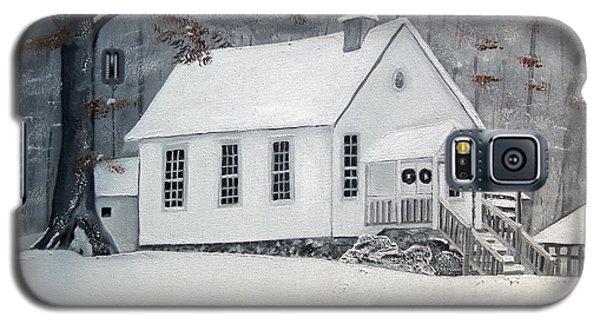 Snowy Gates Chapel  -little White Church - Ellijay Galaxy S5 Case